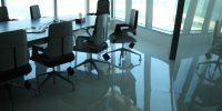 pavimento ufficio a specchio