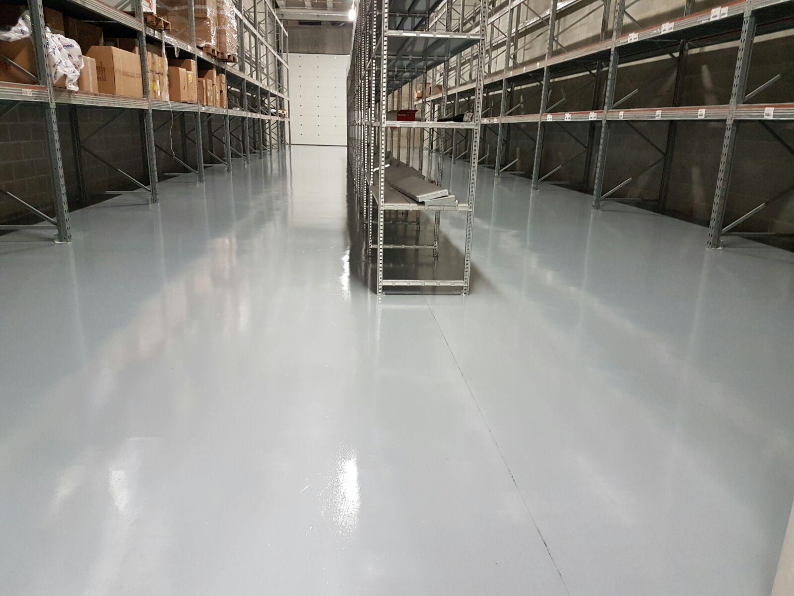 RV 660 Durepox pavimento industriale